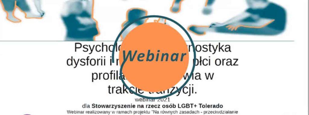 webinar psychologia diagnostyczna dystrofii i niezgodnosci plci